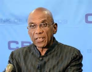 DeLisle Worrell Governor of the Central Bank of Barbados