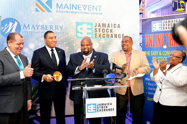 Main Event Entertainment Group Listed On The Junior Market Of The Jamaica Stock Exchange