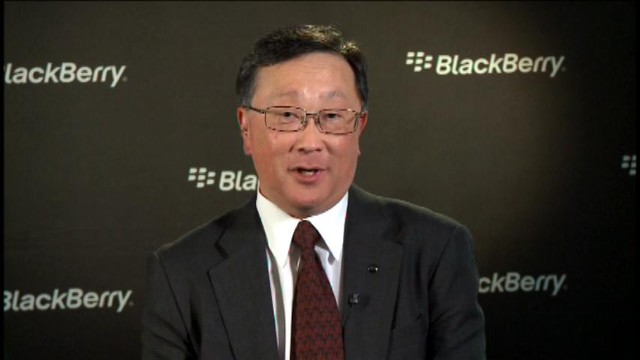 John Chen BlackBerry's Chief Executive Officer