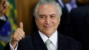 Michel Temer Brazilian President