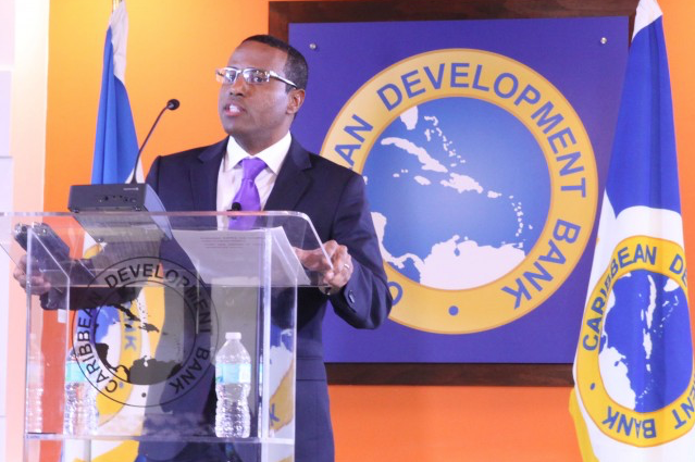 Dr Justin Ram Director of Economics at the Caribbean Development Bank