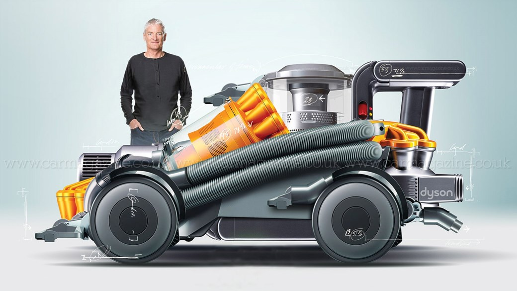 The Electric Car Reinvented By Dyson?