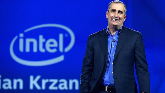 Brian Krzanich Intel Corp. Chief Executive Officer