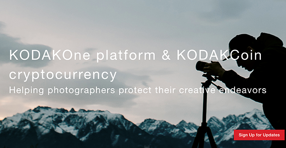 Kodak Uses Blockchain To Create Kodakone Platform For Digital Photography With Own Digital Currency Kodakcoin