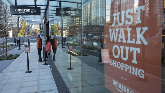 Amazon Opens First Futuristic Convenience Store