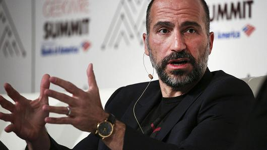 """Cars Are To Uber What Books Are To Amazon"" – Khosrowshahi"