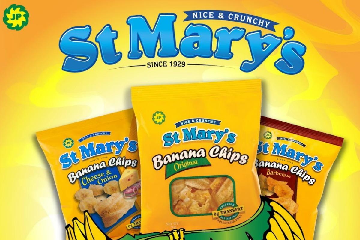 st marys banana chips