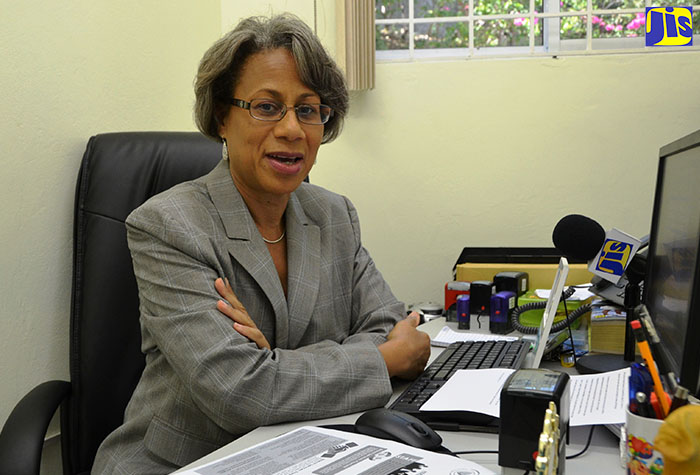 Judith Ramlogan Chief Executive Officer (CEO) of the Companies Office of Jamaica (COJ),