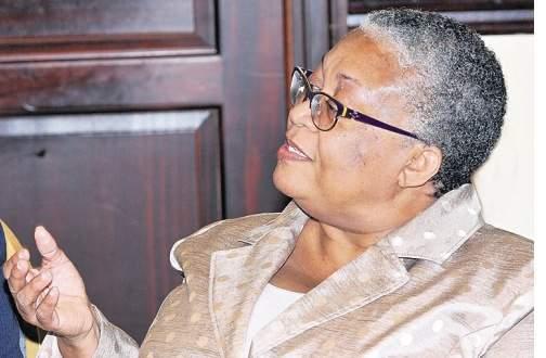 Marlene Street Forrest JSE Managing Director,