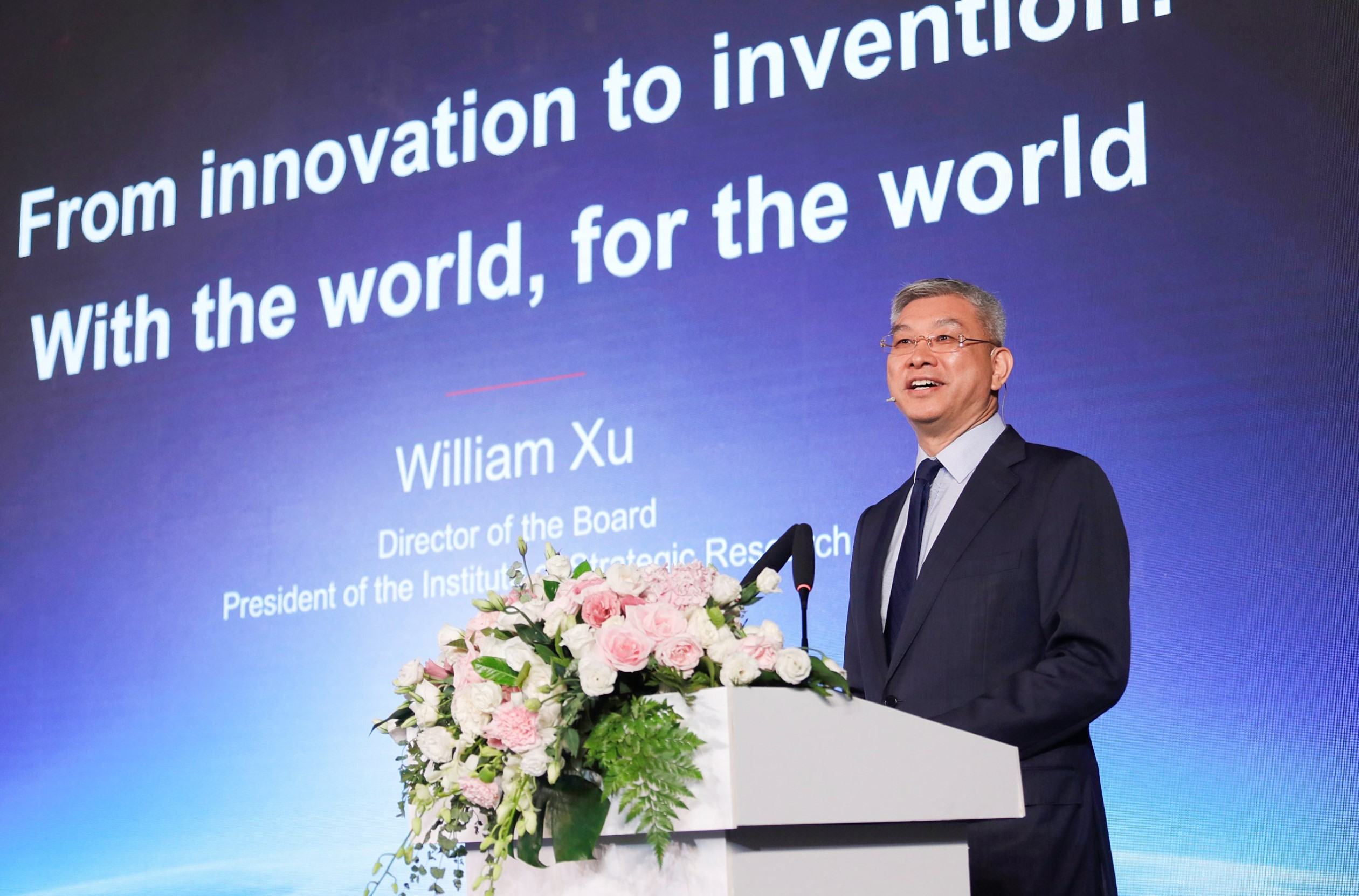 William Xu, Huawei Director of the Board,