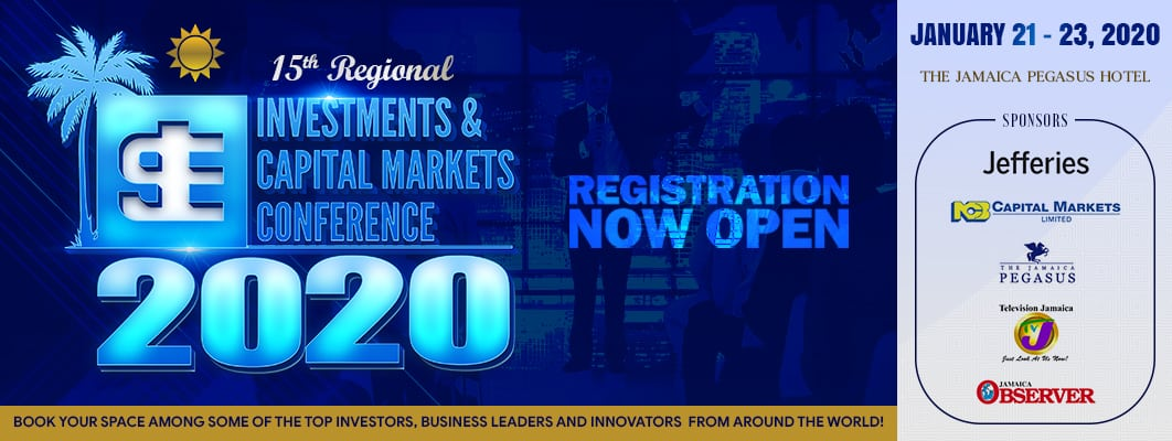 Jamaica Stock Exchange Regional Investments & Capital Markets Conference January 21-23 2020